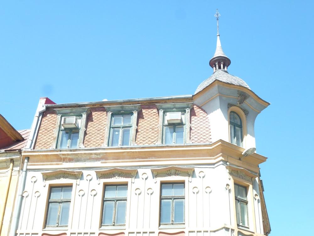 Riga Jugendstil Fassade3