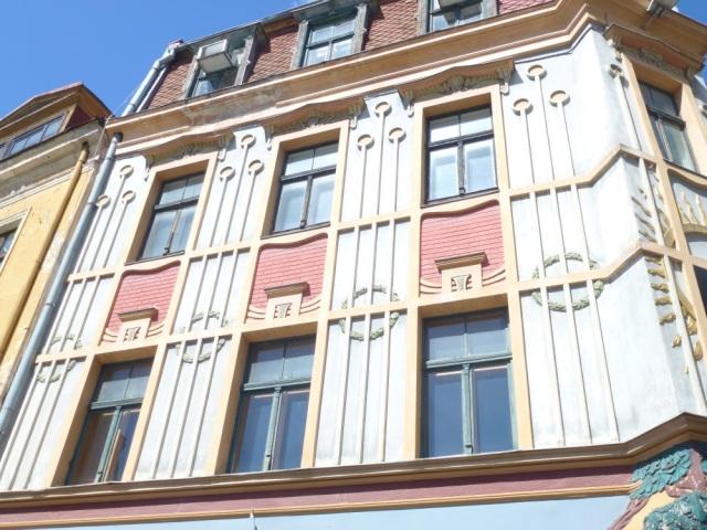 Riga Jugendstil Fassade5