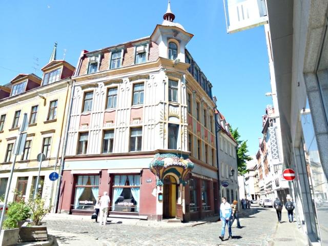 Riga Jugendstil Fassaden2