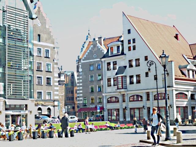 Riga modern und alt