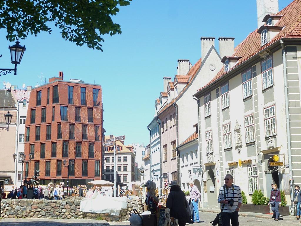 Riga Moderne neben Jugendstil